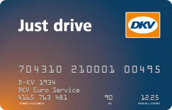 Picture of DKV JUST DRIVE CARD
