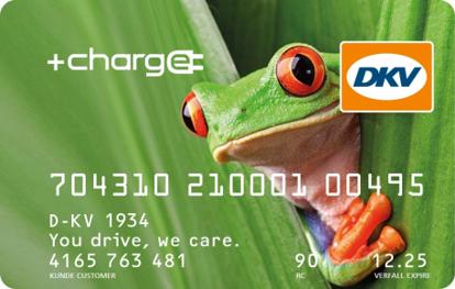 Afbeeldingen van DKV FLEET CARD CLIMATE +CHARGE