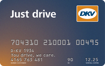 JUST DRIVE CARD
